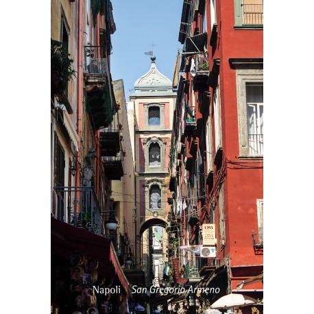 Magnete fotografico Napoli - S.Gregorio Armeno