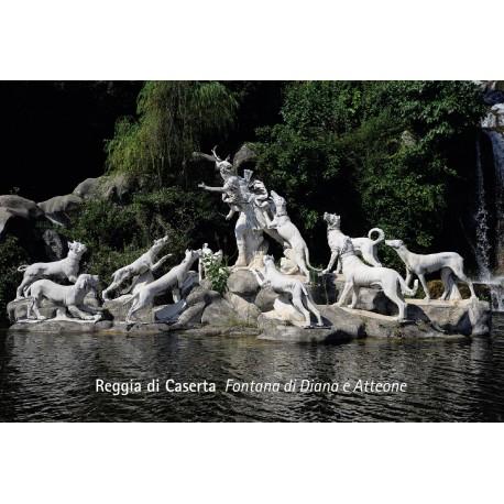 Magnete fotografico Reggia di Caserta - Fontana di Diana e Atteone con i cani