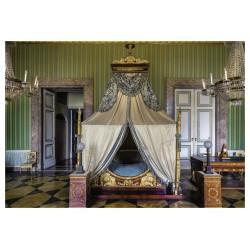 Cartolina Reggia di Caserta - Appartamento Murattiano. Il letto di Gioacchino Murat