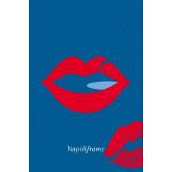 Cartolina Napoliframe - Il bacio.