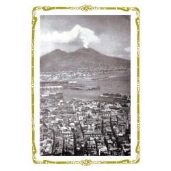 CARTOLINA COLONNESE PANORAMA DI NAPOLI PRIMO `900
