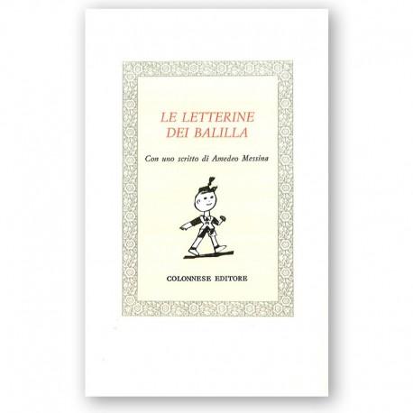 Letterine dei balilla (Le)