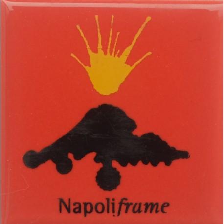 Magnete Ceramico Napoli -Vesuvio Rosso