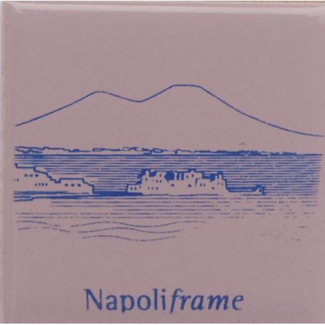 Magnete Ceramico Napoli - Il Golfo Lavanda