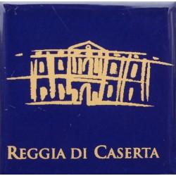 Magnete Ceramico Reggia di Caserta - Stilizzato fumetto blu
