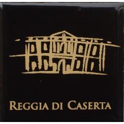 Magnete Ceramico Reggia di Caserta - Stilizzato fumetto nero