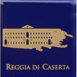 Magnete Ceramico Reggia di Caserta - Stilizzato sfumato blu