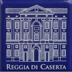 Magnete Ceramico Reggia di Caserta - Facciata blu