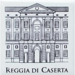 Magnete Ceramico Reggia di Caserta - Facciata grigio