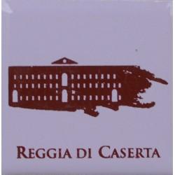 Magnete Ceramico Reggia di Caserta - Stilizzato sfumato lavanda