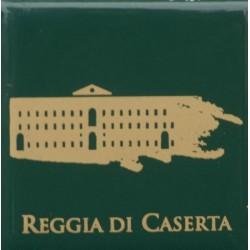 Magnete Ceramico Reggia di Caserta - Stilizzato sfumato verde