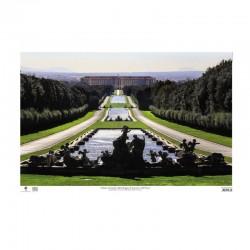 Poster Reggia di Caserta - Veduta d`insieme della Reggia e del Parco