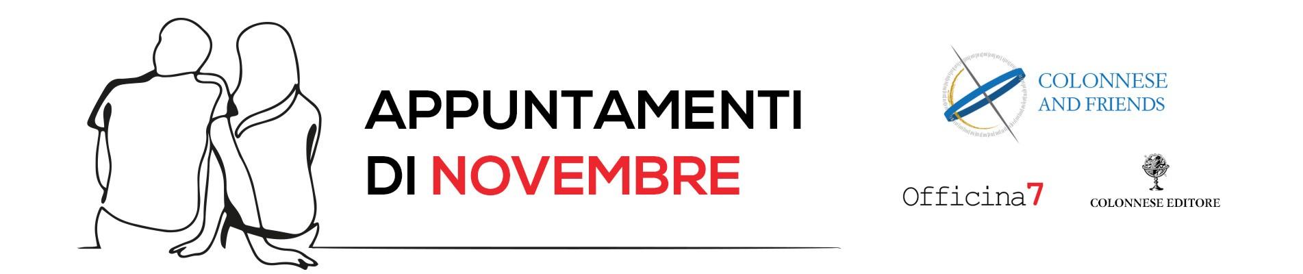Appuntamenti di Novembre
